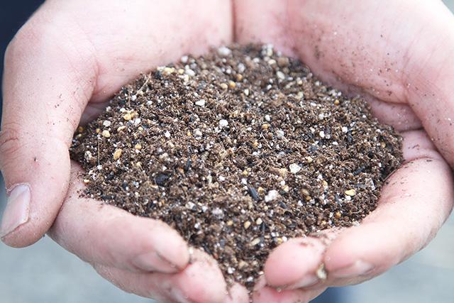 土・肥料へのこだわり